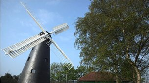 Brixton windmill reopens on 2 May 2011