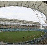 The inside of the Durban Stadium