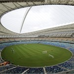 The field of the Moses Mabhida stadium in Durban