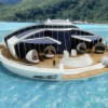 Solar-Powered Floating Island is an Off-Shore Green Retreat