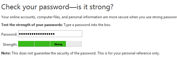 microsoft password checker 4 Free Sites to Check your Password Strength Online