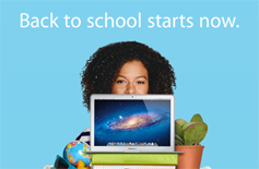 Back to school starts now.
