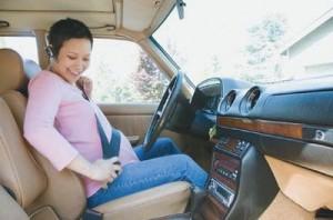 Беременность и вождение автомобиля