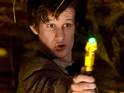 Doctor Who S05E09: Cold Blood - The Doctor with his sonic screwdriver