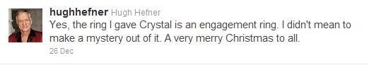 Hugh Hefner Engaged