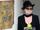 War is Over... again! Yoko Ono launches latest London exhibition with some suitably wacky artwork