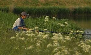 Anja Groot, one of the Netherlands' best anglers