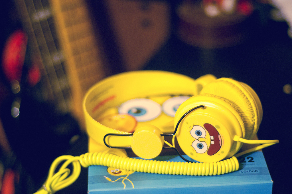 Gifts - HeadPhone Sponge Bob