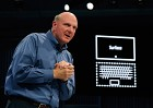 The Los Angeles event for the Surface launch was led by Microsoft CEO Steve Ballmer, who has run the company since the departure of Bill Gates in 2000.