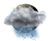 Mostly Cloudy Thunderstorms