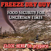 Freeze Dry Guy: food security for uncertain times
