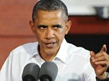 Attack: Barack Obama said in a speech in Virginia on Saturday that small business owners could not claim credit for their own success