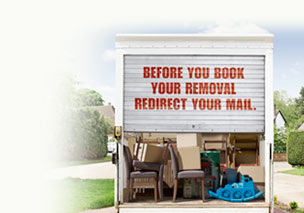 Before you book your removal, redirect your mail