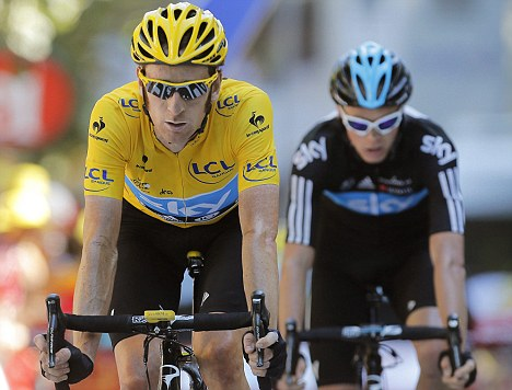 Cycle boom: Sales may have also been helped by Bradley Wiggins Tour de France success