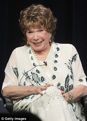 Candid chat: Shirley MacLaine speaks at the Downton Abbey, Season 3 panel on Saturday