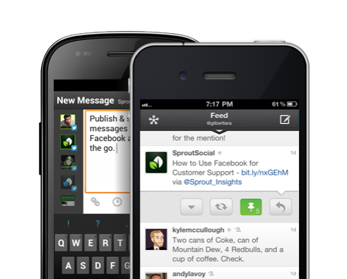 iPhone & Android Mobile Apps - Sprout Social