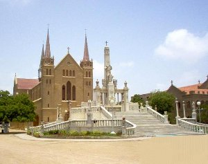 St. Patrick's Cathedral in Karachi nowadays