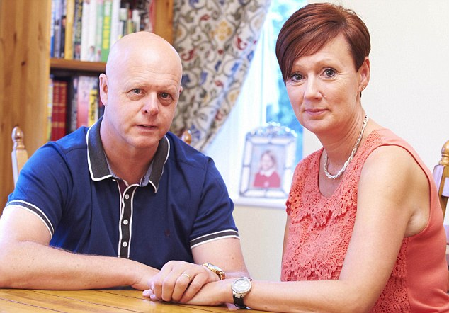 Staying together: Kevin was determined his marriage to Nicola would survive the trauma of Holly's murder