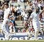 Joy and despair: Amla reaches 300 off Bresnan