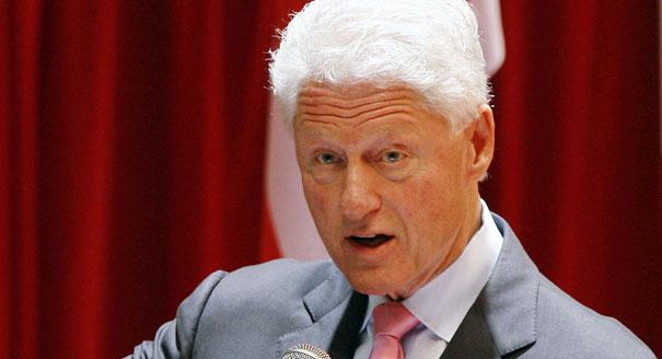 Bill Clinton is shown here. | AP Photo