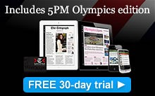 olympics ipad edition - telegraph ipad app
