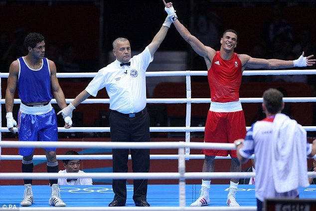 Great start: Anthony Ogogo won his first match