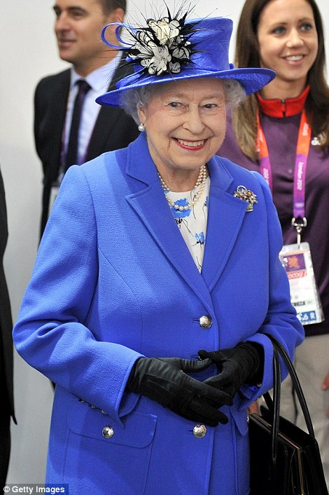 The Queen described the opening ceremony as 'wonderful' and smiled her way through a tour of the Olympic Park on Saturday afternoon