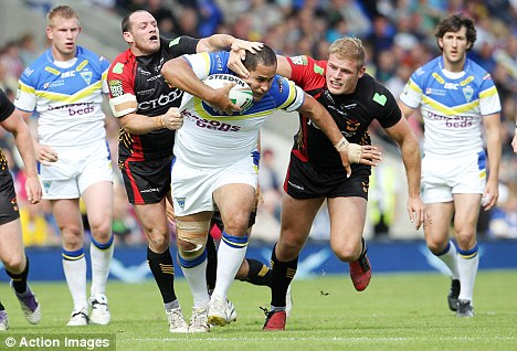 Blown away: Warrington thrashed crisis club Bradford