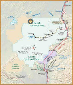 Denali State Park Map Picture