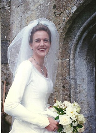 Cold feet: Clare Clark called off her wedding just weeks before the big day. She tied the knot three years later after finding love again