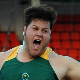 Stephen Brink won South Africa's first medal at the Commonwealth Youth Games in Pune, India. Brink finished second in the shot put with a distance of 18.14m.