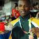 Boipelo Motlhatlhego won a bronze medal in the triple jump at the Commonwealth Youth games in Pune on Tuesday.