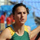 Arlene Gower finished fifth in the final of the 100m at the Commonwealth Youth Games in Pune, India on Tuesday.