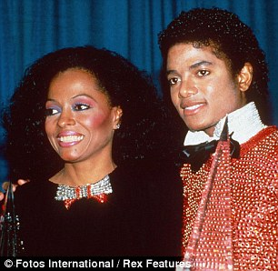 Close: Michael appointed Diana Ross as the back up guardian for his three children in the event of his death so she has to sign off custody arrangements