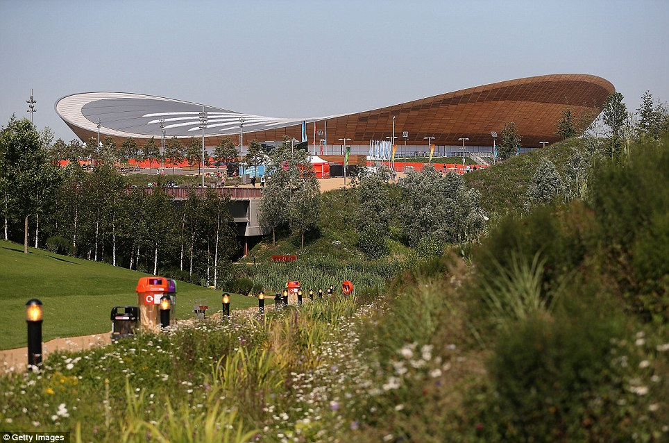 At £93m, the Velodrome cost just a third as much as the aquatic centre, and has already scooped architectural awards