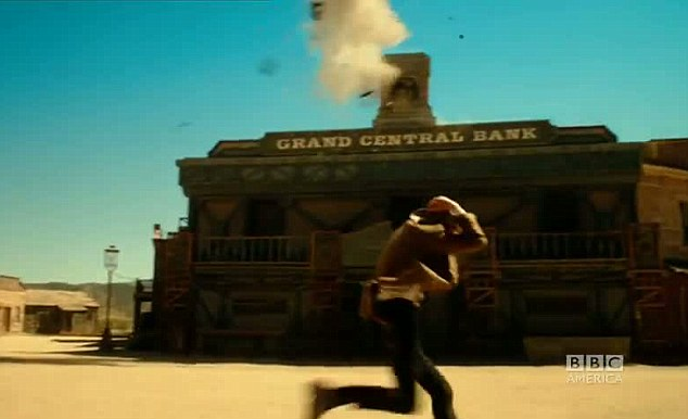 Western: The Wild West-themed episode three was filmed in Spain