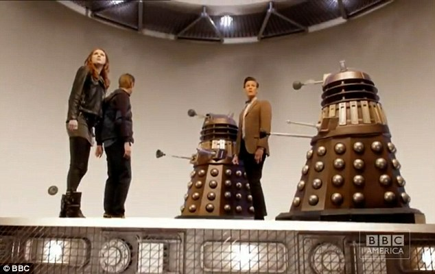 Deadly: The Time Lord comes face to face with his arch enemies, the Daleks