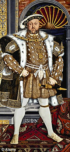 Chris would love to buy Henry VIII a pint and a pie