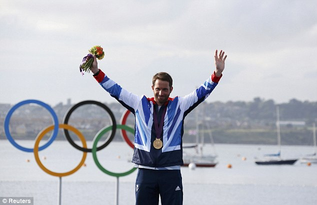 Ainslie described the race 'as the most nerve wracking of my life' but his latest win has probably won him a place in the history books