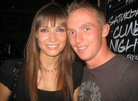 Lance Corporal James Hill and his fiancee Anastasia Newman. Hill, from the 1st Battalion were inseparable since they met in 2008