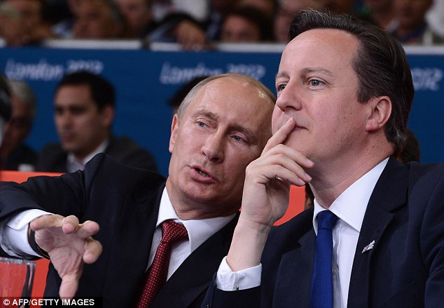 Marina Litvinenko says she felt 'such sadness' watching President Putin attend the judo with Mr Cameron last Thursday on his first visit to Britain in seven years