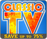 Save up to 75% on Classic TV DVDs