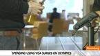 Spending With Visa Surges After the Olympics