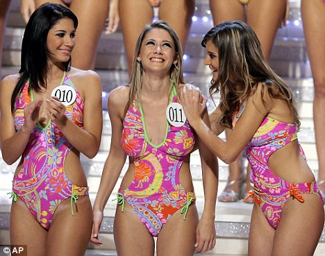 Miss Italy: Organisers hope the move will add a 'sober element' to the pageant