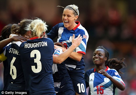 Success story: Team GB won their first three games at the Olympics