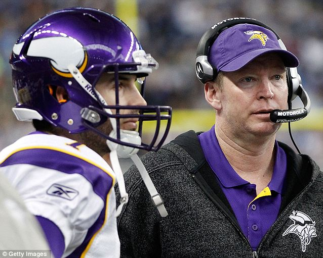 Vikings offensive coordinator Bill Musgrave will never forget when he was the quarterbacks coach for Atlanta on a November 2008 trip to the Oakland Coliseum