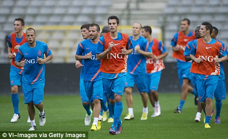 New dawn: RVP has been warned he may have to play second fiddle to Huntelaar