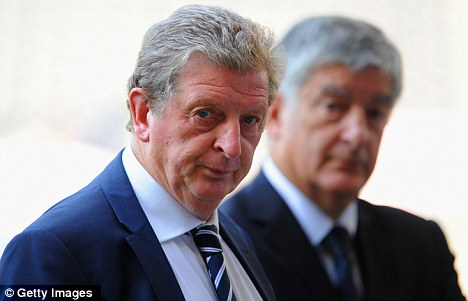 Backing: Hodgson expressed his support for Terry