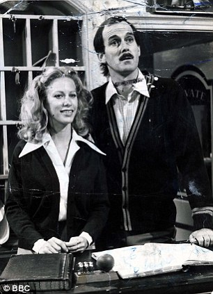 John Cleese with his second wife, Connie Booth, with whom he wrote and starred in Fawlty Towers