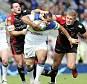 Blown away: Warrington thrashed crisis club Bradford
